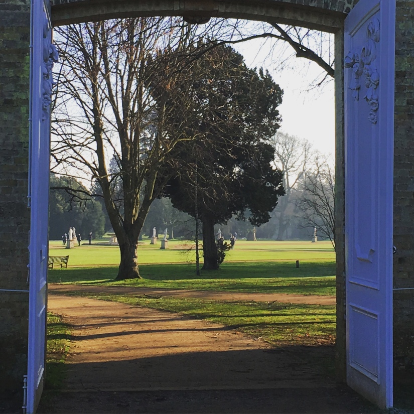 Wrest Park in Winter